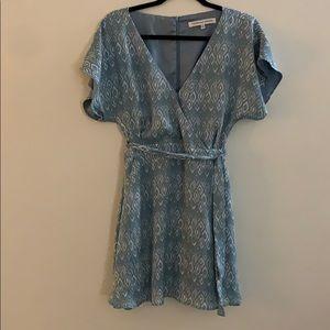 Powder Blue Cupcakes + Cashmere Dress